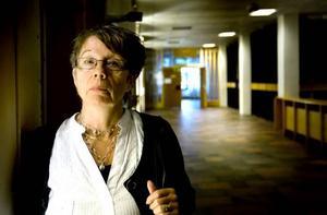 HOPPAS PÅ ARBETE. Solveig Lind från Årsunda hoppas att det dyker upp något jobb snart.