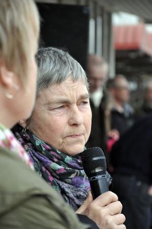"""FLYTTADE. """"När vi slutade hade vi blivit av med 30 djur"""", berättar Birgitta Höglund som lade ner sin fäbodvall på grund av vargen."""
