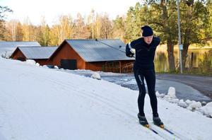 Ingemar Lindberg från Valbo har åkt Vasaloppet 37 gånger. Nu har 70 åringen inlett årets skidsäsong.
