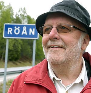 Nicke Sjödin var under hela livet en varm ambassadör för Röån, hembyn utanför Junsele. Så här lyder avslutningsorden från byn: