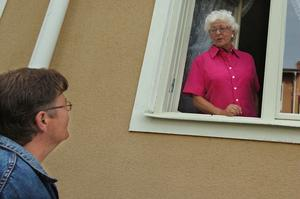 Siv Nyström och dottern Rose-Marie bor nära varandra.