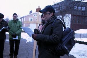 Oliver Sundström höll samman textläsningen.