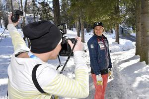 Anna Swenn Larsson fotas av Bildbyråns Daniel Stillner