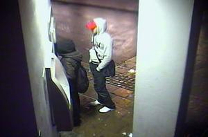 Sundsvallspolisen vill gärna veta vem den unge mannen på bilden är. Polisen betraktar fortfarande händelsen som ett försvinnande och har inga misstankar om att ett brott begåtts.