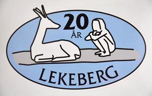 Lekebergs jubileumslogga