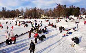 I helgen öppnade Vinterparken.