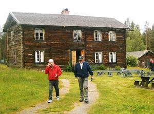 En av de äldsta byggnaderna på Gudmundstjärns hemman.