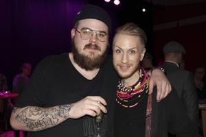 Deep Sound och David Lehnberg strålade samman på minglet. David Lehnberg tog emot pris som årets producent.