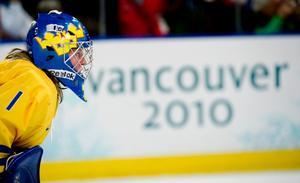 Sara Grahn gjorde OS-debut mot Slovakien.