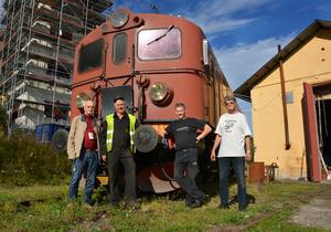 Rune Lindgren, OKBv, Sven-Åke Dahlberg OKBv, Henrik Reuterdahl, Sveriges järnvägsmuseum, Rolf Nord, Malmbanans vänner.