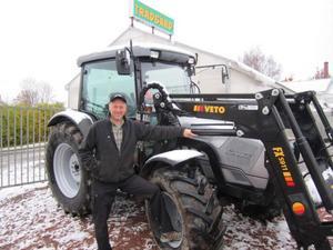 Stefan Lidberg, trädgårdsmästare i Bispgården är stolt ägare till en Lamborghini. Men inte den Lamborghini som tidningen Expressen trodde.