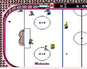 Ice Hockey - en klassiker i tv-spelssammanhang.