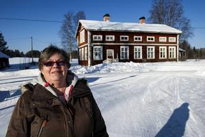 Birgit Lindell är en av nyinflyttade i området. Hon bor sedan ett drygt år i Hocksjön.