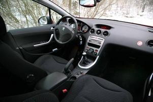 Bra förarplats och bra komfort kombineras med en flexibel interiör.