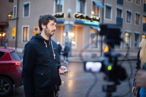 Jonas Harrysson ledde live-sändningen.