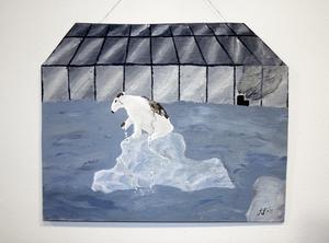 Tema klimathotet. Illustration: Sofie Samuelsson.