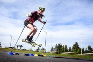 Den tidigare skidgymnasieeleven Caroline Glännerud testade om takterna satt i. Svaret blev