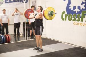 Johan Robertsson-Ståhl, Dönje, i 85-kilosklassen.