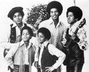 Jackson 5 när det begav sig. Tito, Marlon, Michael, Jackie och Jermaine Jackson.