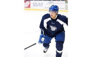 Martin Janolhs lånas ut till Borlänge Hockey. Foto: Klockar Mattias Nääs