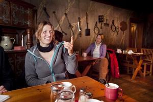 Reseledaren Irene Asprion kommer med upp till fem tyska grupper till Lassekrog i vinter och vår.
