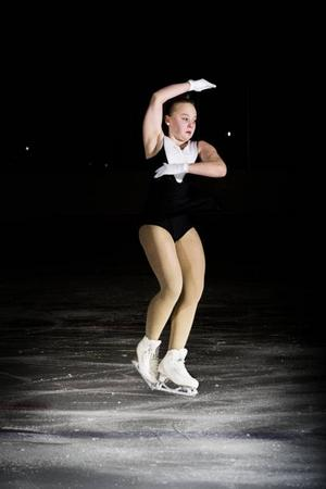 Maja Öhman, 11 år, ÖstersundAtt hoppa är roligast.