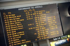 Inställda tåg är något vi är alltför vana vid.