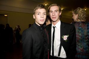 Jakob Sindenius och Wictor Hahn.