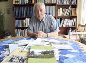 Bygdehistoriker. Foto: Olof Schääf