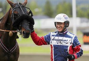 Kusken Ulf Eriksson gör på söndag debut i Elitloppet.