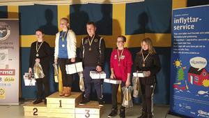 Freja Norrlinder tog en imponerande andraplats på Skyttiaden.