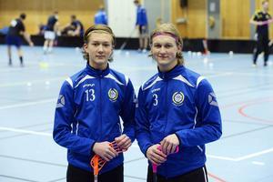 Johannes Nilsson spelar i samma innebandylag, IBK Sundsvall ungdom, som sin bror Jonatan.