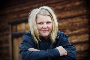 Erica Hammar i Funäsdalen pluggar vidare i Paraguay. I ett år ska hon bo hos en familj i Sydamerika. Foto: Håkan Persson