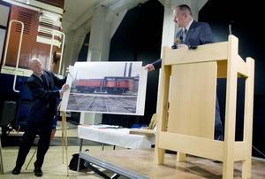 De gamla loken fanns inte på plats i Gävle utan visades upp på bild innan budgivningen. Loket T43-221gick till Inlandsbanan som redan i dag använder det gamla loket i sin dagliga verksamhet. Priset: 1 495 000 kronor.