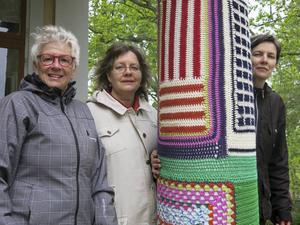 Kollakolla konsthantverk med Berit Lindberg, Ulla Forsberg och Mari Forsling Jenke har gjort