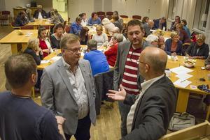 Peter Berggren, Olle Persson, Daniel Pettersson och  Ludvig Sandberg hjälptes åt att reda ut begreppen kring samverkansformer.