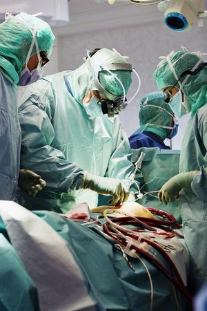 Hjärtoperation på Karolinska Universitetssjukhuset i Solna.