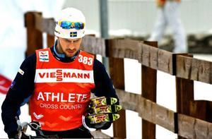 Anders Södergren hoppades in i det sista, men han kände att han inte skulle orka med femmilen.