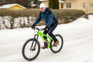 Magnus Rydhult siktar mot deltagarrekord för Fjällturen. Mindre snö lär det vara också när loppet körs i mitten av juli.