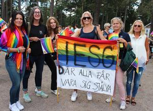 Jessica, Katrin och Carola, personal från Internationella Engelska skolan: