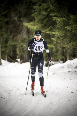 Lisa Dahl, Offerdal, var överlägsen bland damerna över 15 kilometer.