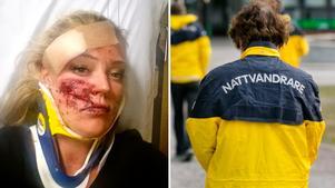 Jozephine-Pilgrim Gimling misshandlades brutalt på lördagsnatten. Nu startar hon en trygghetsgrupp på Facebook.