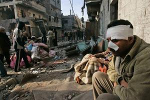 Ett namnlöst lidande för det palestinska folket. Foto: HATEM MOUSSA