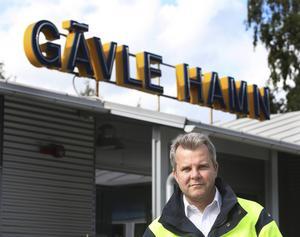 – Jag kan väl ha respekt och förståelse för de som tycker att huset är värt att bevara. Men jag är vd för Gävle hamn och ska i första hand se till hamnens bästa, säger Fredrik Svanbom.