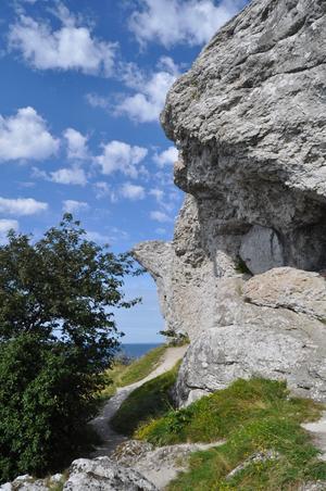 Bilden togs under vår semester till Gotland 2009. Härligt väder och härliga minnen.