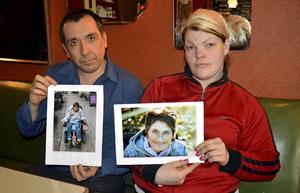 Brian James Casey och Jenni Lundin sörjer vännen Leena Backlund som de tycker blev orättvist behandlad av samhället.
