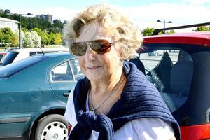 – Det låter inte bra. De har väl tagit ganska många tack vare kontrollerna, säger Allis Wedberg, 78 år, pensionär, Njurunda.
