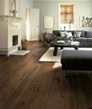 Fortfarande är trä det material som de flesta väljer som golv till sina hem. De finns i en mängd olika träslag som alla ger olika karaktär. Foto: Kährs