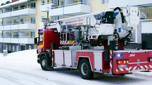 Brandkåren ryckte ut till Forsbackavägen på söndagseftermiddagen.