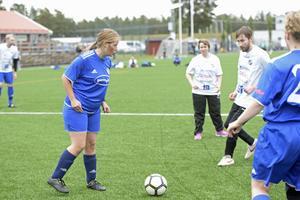 Det var en hård kamp mellan GIF Sundsvall FH och IFK Timrå FFF.